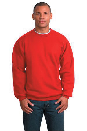 Unisex Sweatshirt with Logo - Red