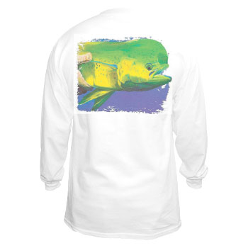 Marine Life Cotton Long Sleeve T-Shirt
