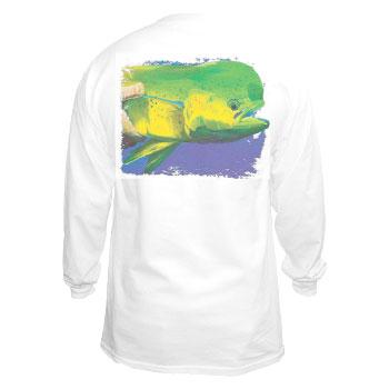 Marine Life Cotton Long Sleeve T-Shirt
