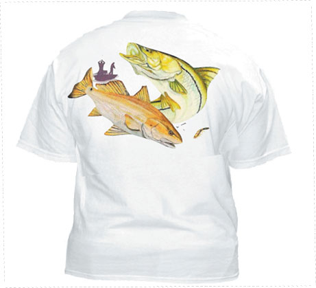 Marine Life Cotton Short Sleeve T-Shirt
