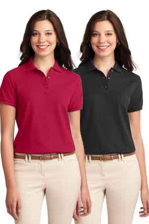 Giunta Ladies Polo with Embroidered Logo