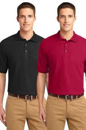 Giunta Men's Polo with Embroidered Logo