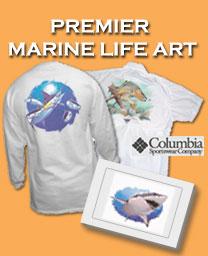 Premier Marine Life Art Apparel & Merchandise