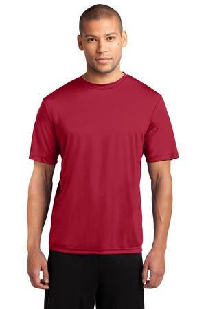 Men's performance tee w/heartwalk logo